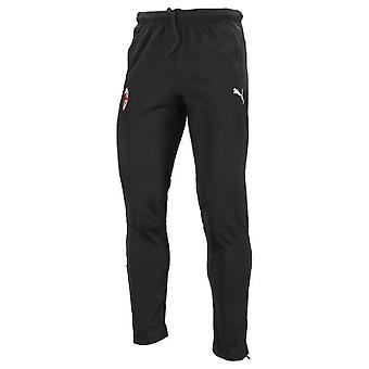 2019-2020 AC Milan Puma Training Pants (Black) - Kids