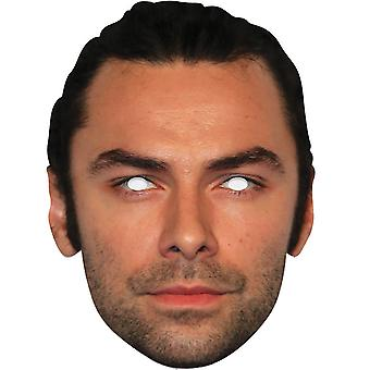 Aidan Turner Single 2D Card Party Fancy Dress Mask
