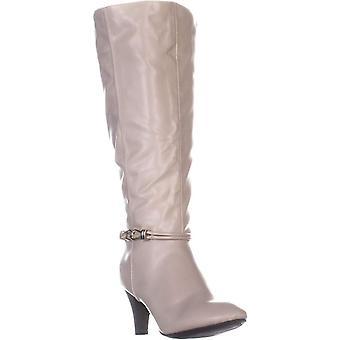 Karen Scott mujeres HOLLEE cuero cerrado dedo del pie rodilla botas de alta moda