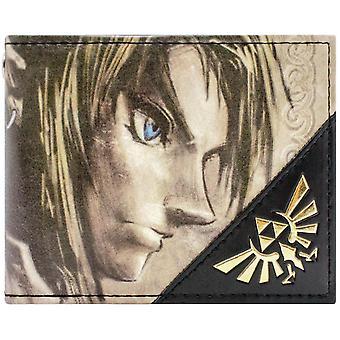 Nintendo Legend of Zelda Twilight Link Gold ID & Card BiFold Wallet