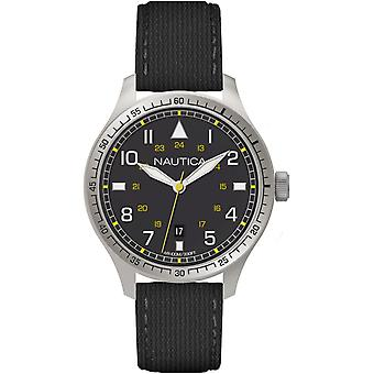 Nautica bfd Quartz Analog Man Watch with A10097G Cowskin Bracelet