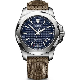 Victorinox Stainless Stainless Men's Watch Analog automatic with cowhide bracelet V241834