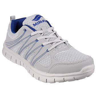 Mirak Mens Milos Lace Sports Trainer Grey/Navy