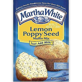 Martha White Lemon Poppy Seed Muffin Mix
