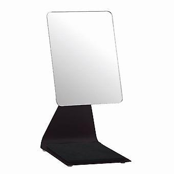 Blue Canyon Bathrooms 'Pelican' Free Standing Makeup Mirror 19cm x 14cm Black