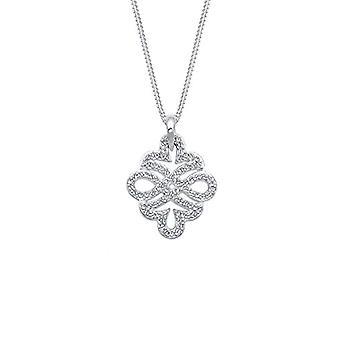 Elli Donna 925 silver vit Rotunda Crystal 0110122516_45