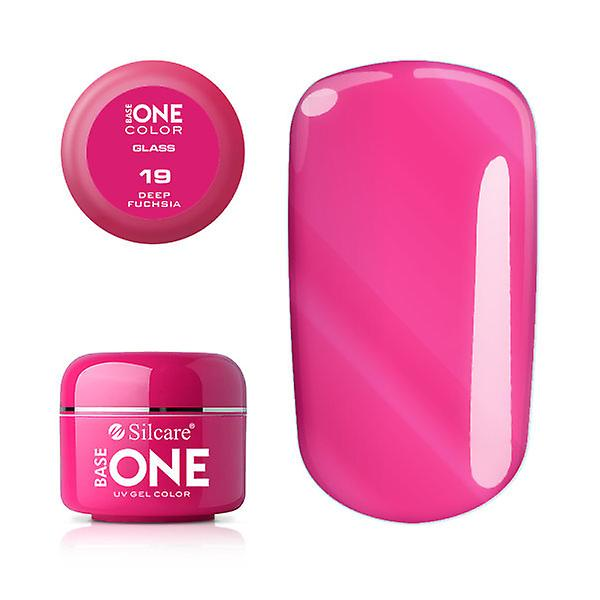 Base one - Color - Deep fuchsia 5g UV-gel (Transparent)