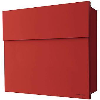 RADIUS-brievenbus Letterman 4 rood muur brief vak 560r