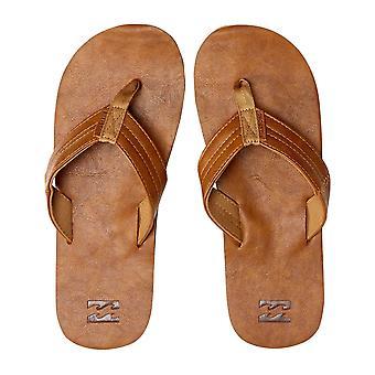 Billabong Seaway klassieke faux leder sandalen in antieke