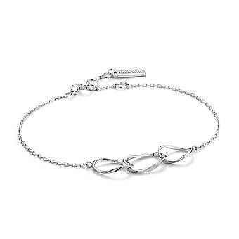Bracelet Ania Haie Sterling Silver Swirl 'Nexus'