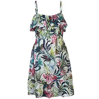 Nvme Womens Ladies Alicia Sleeveless Spaghetti Straps Mini Casual Summer Dress