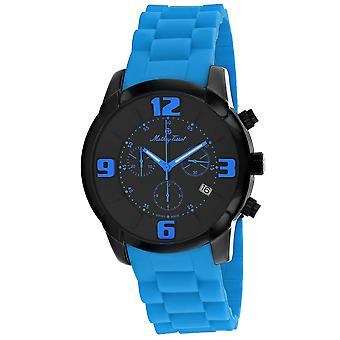 Mathey Tissot Men's Classic Black Dial Watch - H511CHBU