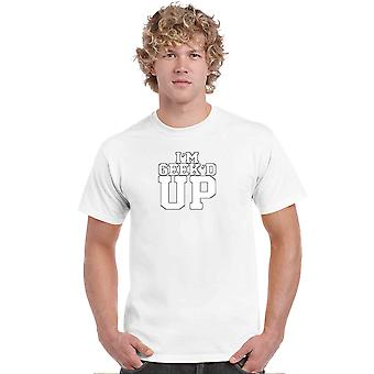 メン&アポス;s Tシャツ I'm Geek'd アップショートスリーブ