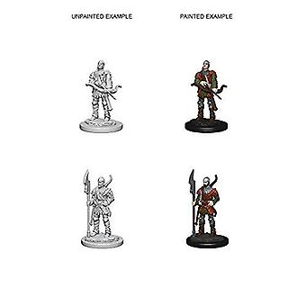 Pathfinder RPG Unpainted Miniatures Town Guards (Pack of 6)