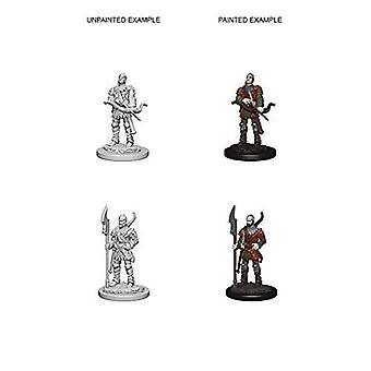 Pathfinder RPG umalt miniatyrer Town Guards (pakke med 6)