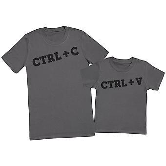 STRG + C & STRG + V - Herren T-Shirt & Kinder T-Shirt