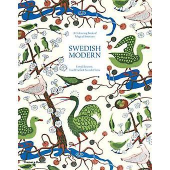 Zweedse moderne een kleurboek van magische interieurs door Estrid Ericson