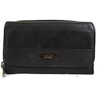 女性スーパー ソフト ナッパ革二つ折りマチネ財布