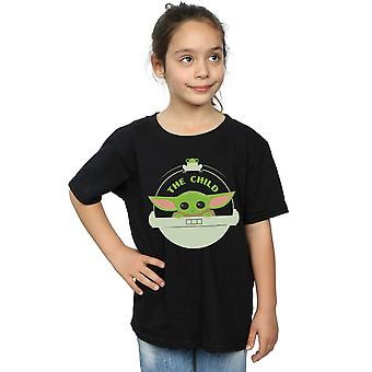 Star Wars Girls The Mandalorian The Child And Frog T-Shirt