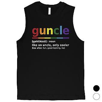 المثليين العم الرجال العضلات أعلى فكرة هدية كبيرة لعيد الميلاد
