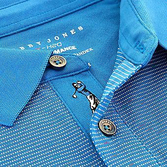Bobby Jones Mens XH20 Solstice Space Dye Pique Golf Polo Shirt