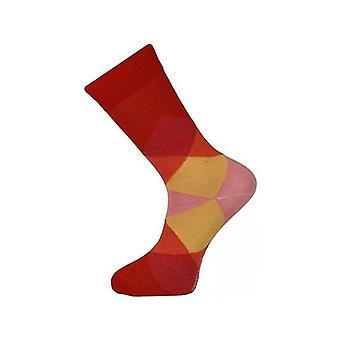 Ankle Socks Diamond Design