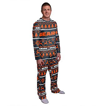 NFL Winter XMAS Pajama Pajama Pajama - Chicago Bears