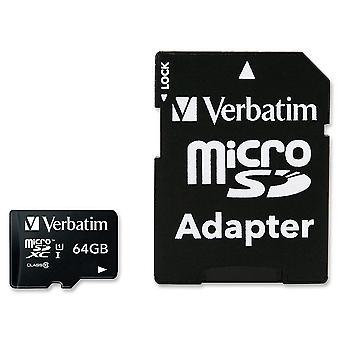 Verbatim 64GB Micro SDXC Card Class 10