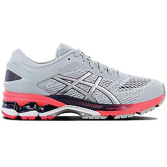 Asics Gel-Kayano 26 1012A457-020 Damen Laufschuhe Grau Sneaker Sportschuhe