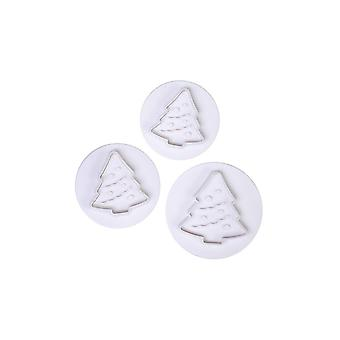 Torta Stella Albero di Natale Plunger Cutters - 3 Set