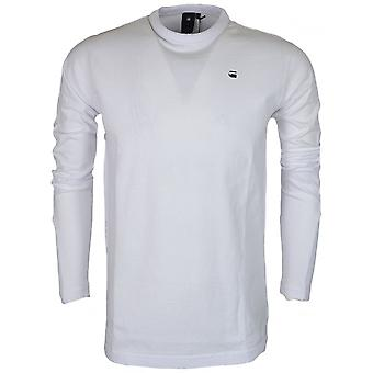 G-Star Motac Dry Jersey Relaxed Fit White Long Sleeve T-shirt