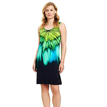 Féraud 3205067-10472 Women's Multicolor Aqua Beach Dress