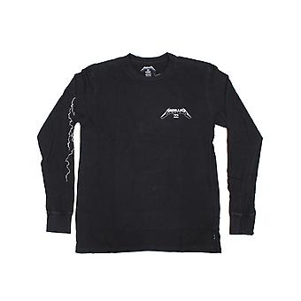 Billabong Ride The Lightning Long Sleeve T-shirt in zwart