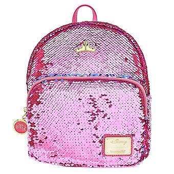 Loungefly x Disney Sleeping Beauty Reversible Sequin Mini Backpack