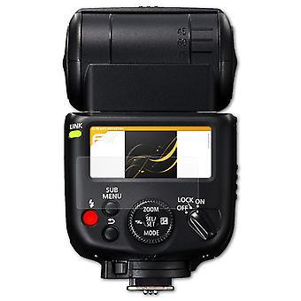 atFoliX Pellicola Vetro compatibile con Canon Speedlite 430EX III-RT 9H Armatura di protezione