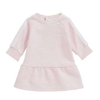 Hugo Boss Girls Hugo Boss Infant Girls Pink Long Sleeve Dress