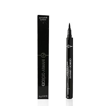 Giorgio Armani øyne å drepe eyeliner - # 1 obsidian svart - 1.6g/0.056oz