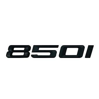 Matt Black BMW 850i Car Badge Emblem Model Numbers Letters For 8 Series G14 G15 G16
