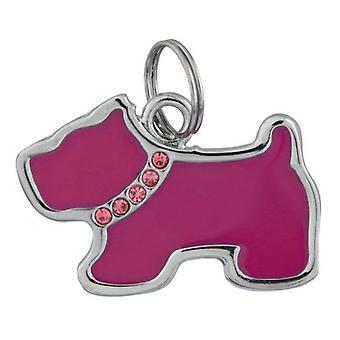 Trixie Placa Identificativa, forma perro, 35 x 25 mm