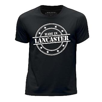 STUFF4 Boy's Round Neck T-Shirt/Made In Lancaster/Black