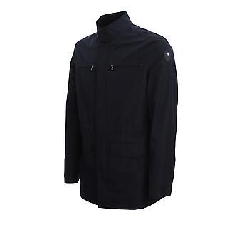 Corneliani 8525z00120147001 Men's Blue Polyester Outerwear Jacket