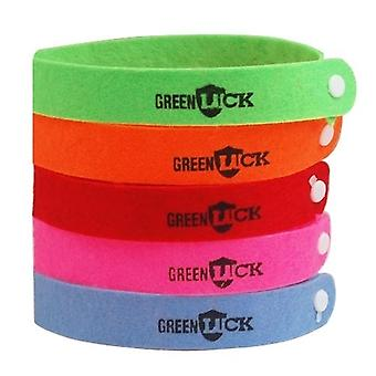 10 X Anti Insect Mosquito Repellent Bracelet Wristband Bands For Kids Adults Deet Free