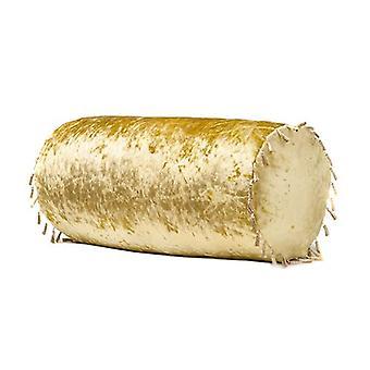 Chartreuse Bolster Crushed Velvet Kussen Klaar gevulde Cover Pad Scatter Pillow