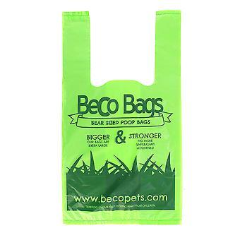 BECO Poop Taschen mit Henkeln (120 Beutel)