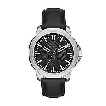 Armani Exchange Analog quartz men's watch with leather AX1902