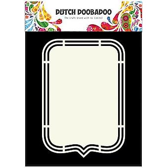 Néerlandais Doobadoo Néerlandais Shape Art Tag A5 470.713.149
