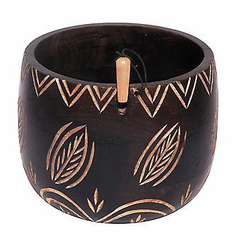 Yarn Bowl: Leafy