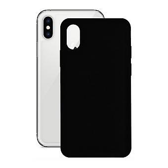 Mobile kansi Iphone X/xs KSIX Musta silikoni