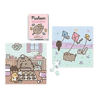 Pusheen Mini Puzzles by Claire Belton - 9780762496952 Book