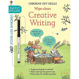 Wipe-Clean Creative Writing 8-9 by Caroline Young - 9781474968522 Book
